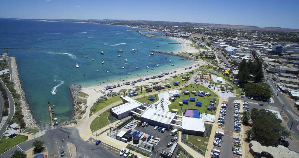 City of Greater Geraldton foreshore port Western Australia