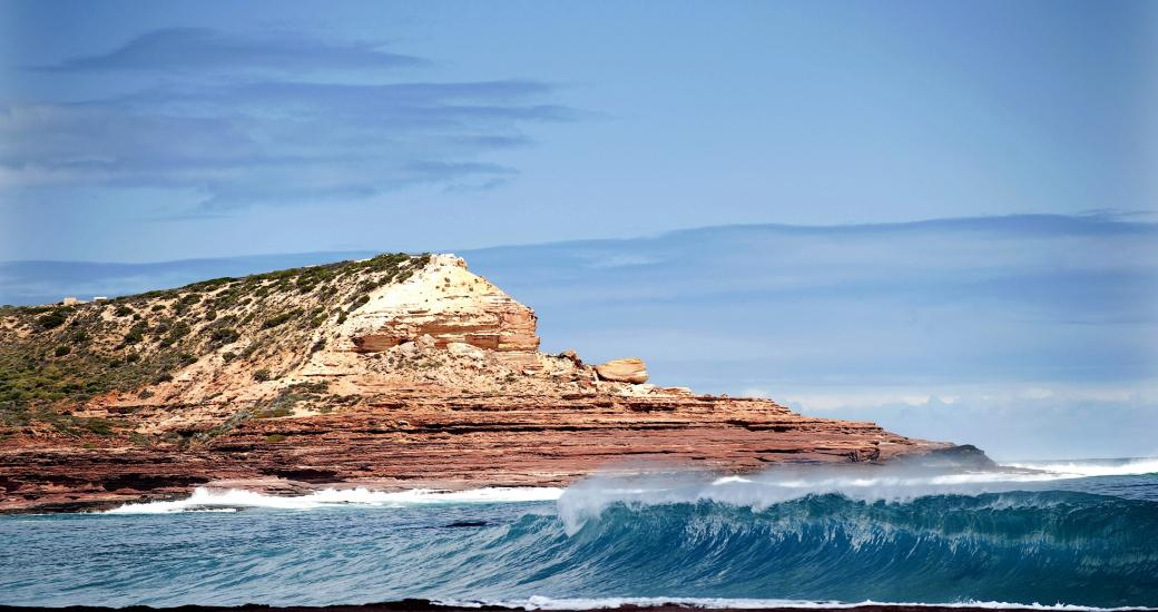 Kalbarri Red Bluff Surf Western Australia beach
