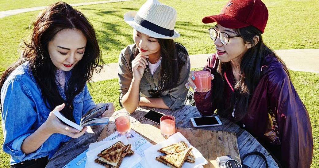 Holiday Planning Chinese Girls Map Western Australia Coral Coast