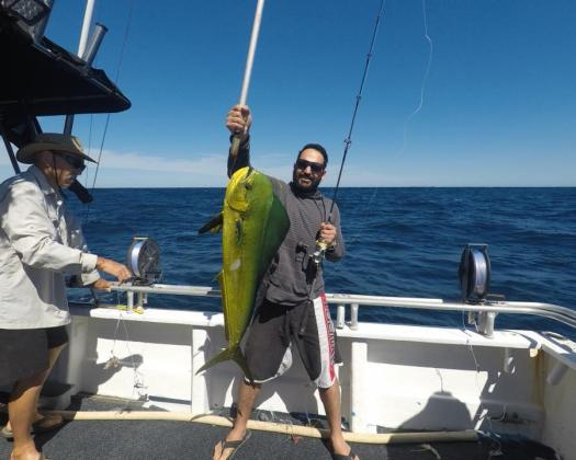 Fishing on tour with Mahi Mahi Fishing Charters