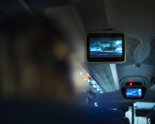 Onboard entertainment on coach travel in Western Australia
