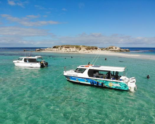 Sea Lion Charters' Vessels Mojo and Sound Waves Jurien Bay Western Australia