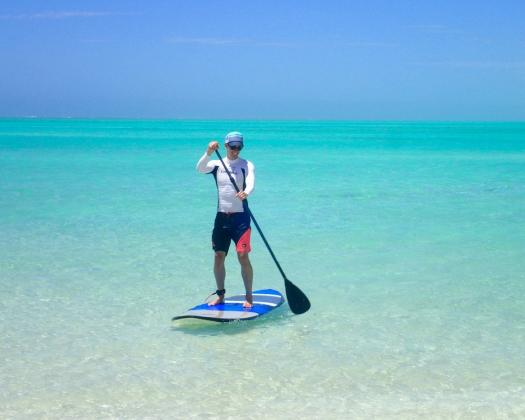 Stand-up paddle boarding with Exmouth Adventure Co, Western Australia
