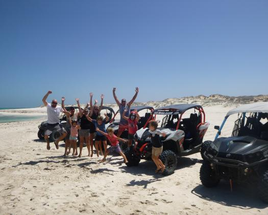 Off Road Rush dune buggy tours along the Ningaloo Coast, Western Australia
