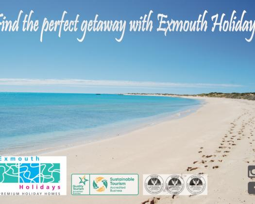 Find the perfect getaway with Exmouth Holidays, Western Australia