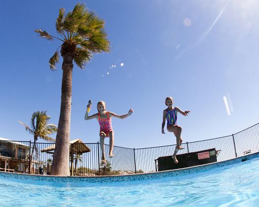 Family friendly, Ningaloo Reef Resort, Coral Bay, Western Australia
