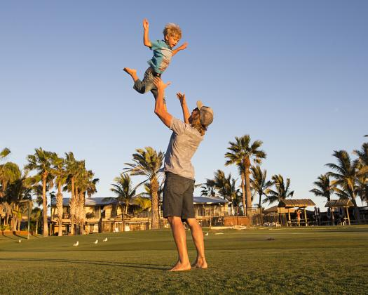 The perfect family destination, Ningaloo Reef Resort, Coral Bay, Western Australia