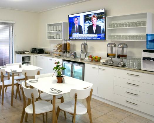 Breakfast Lounge, Nesuto Geraldton Apartment Hotel
