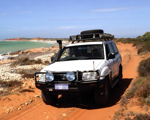 Join a tour in our comfortable Landcruisers, max. only four guests, with NatureTime Tours, Western Australia
