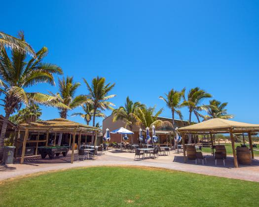 Dine at Shades Cafe, Ningaloo Reef Resort, Coral Bay, Western Australia