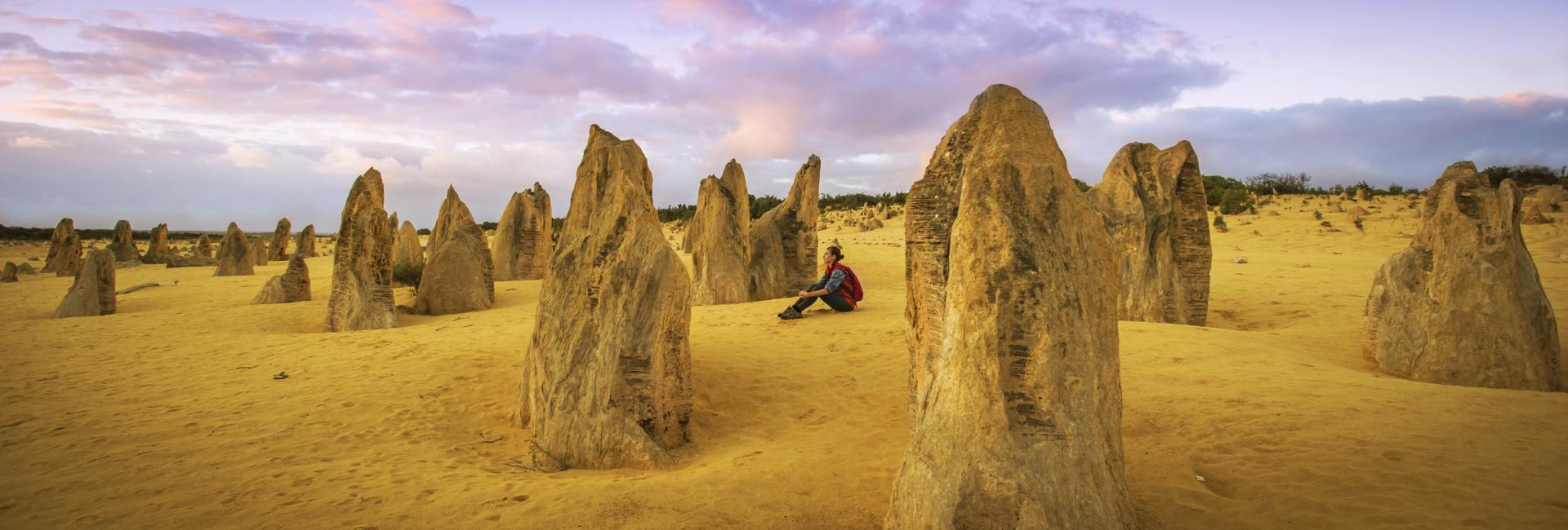 The Pinnacles of Nambung National Park near Cervantes, Western Australia