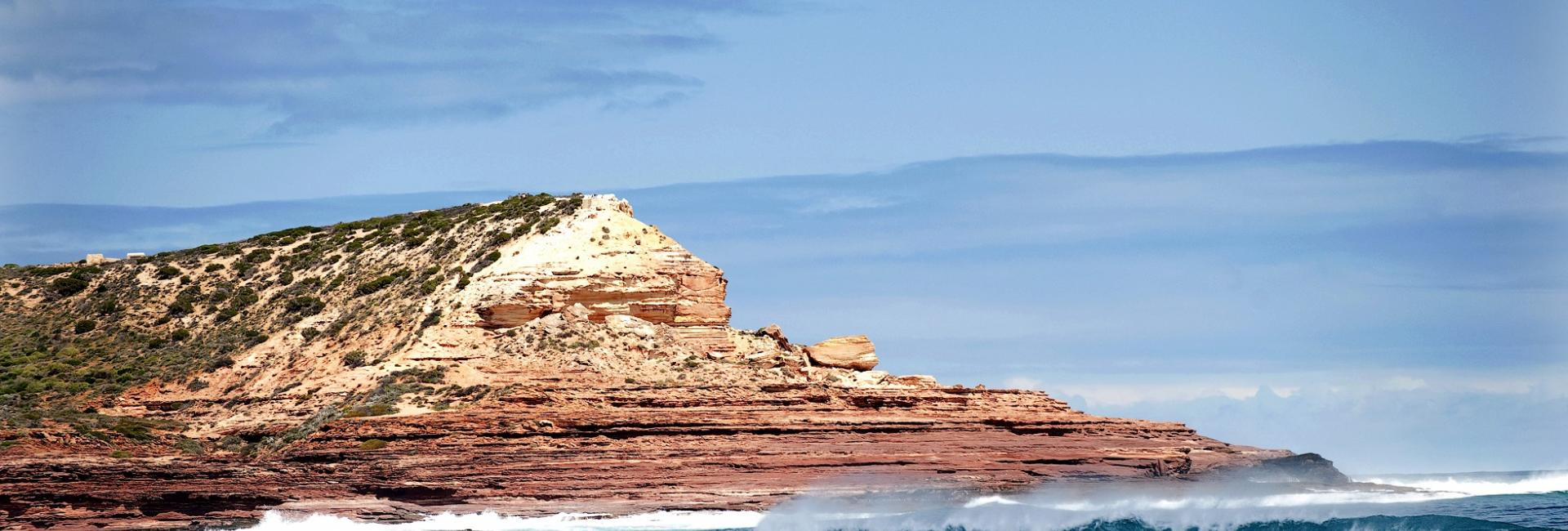 Red Bluff Kalbarri Beach Surf Wave