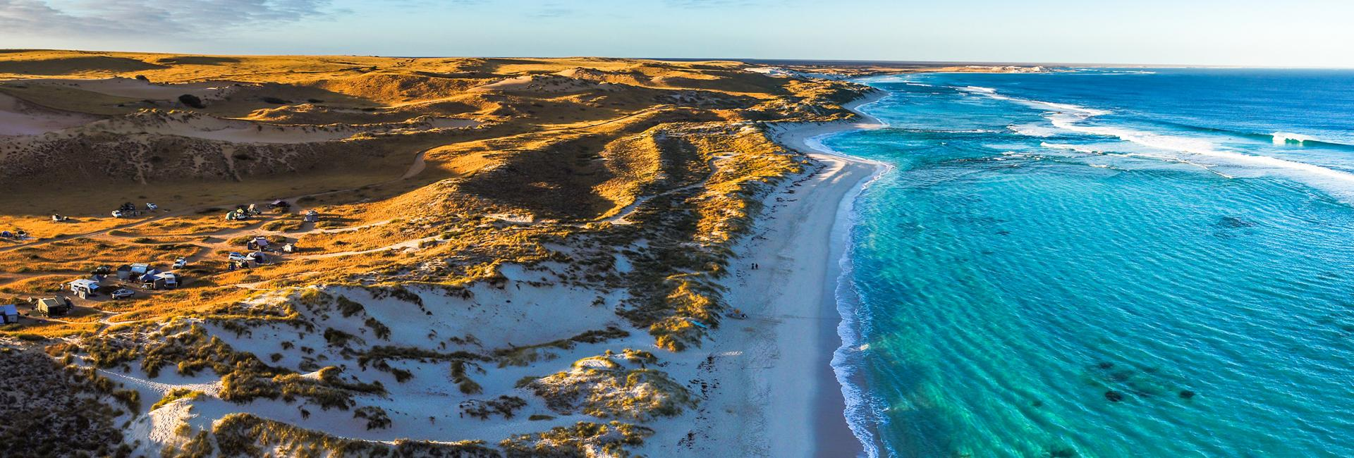 Warroora Outback Cattle Station beach Western Australia