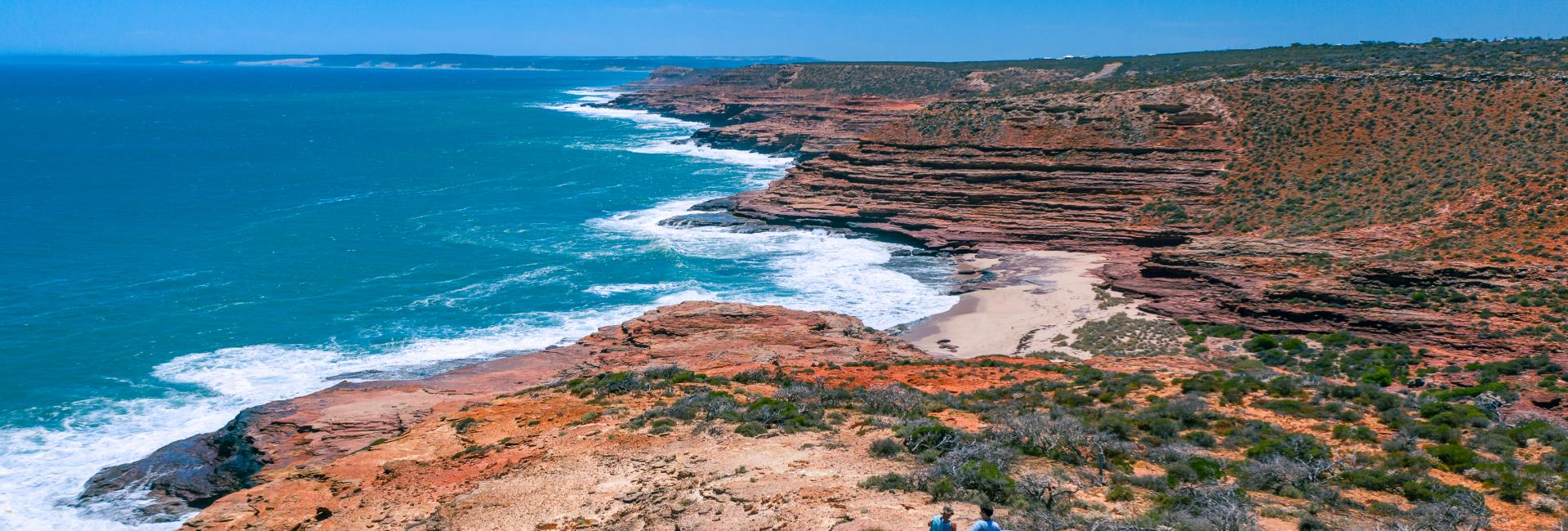 Kalbarri Coastal Cliffs lookout
