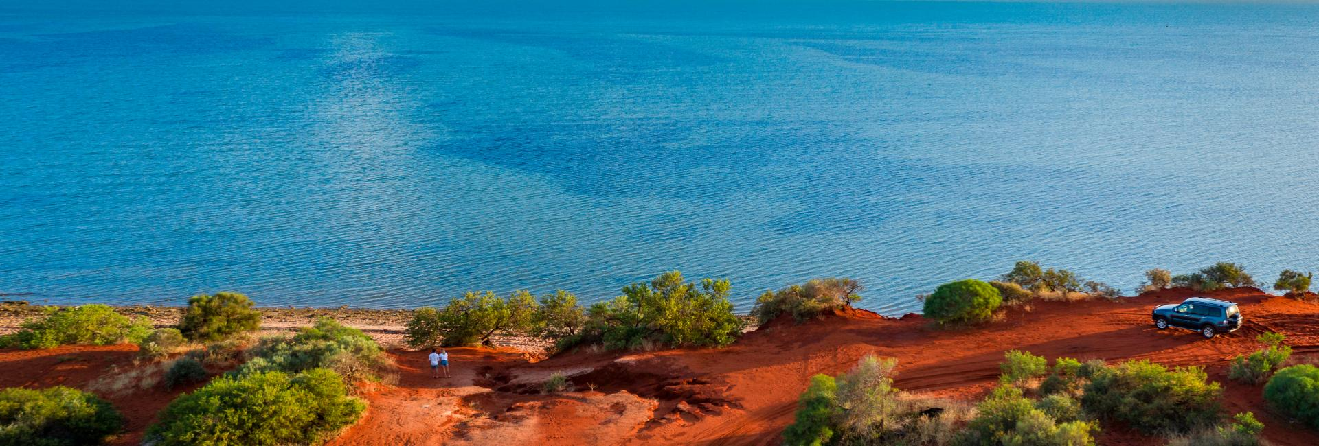 Monkey Mia in Shark Bay, Western Australia's Coral Coast