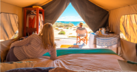 Sal Salis eco tent luxury accommodation Ningaloo Exmouth