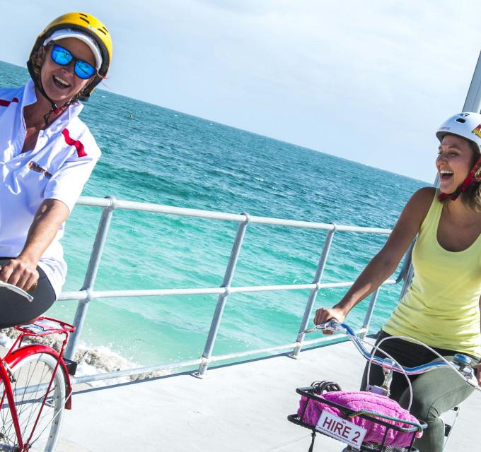 Cycling the Turquoise Way Jurien Bay Western Australia
