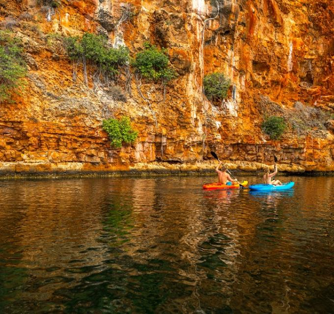 Ningaloo Reef Exmouth Yardie Creek canoe kayak