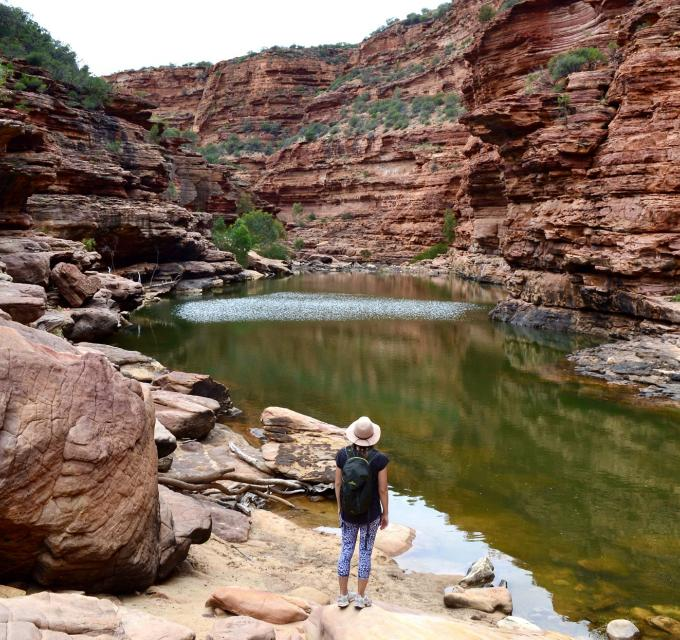 The Loop and Z Bend hiking Kalbarri National Park