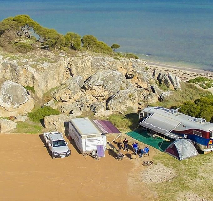 Cliff Head Campground Indian Ocean Drive Western Australia