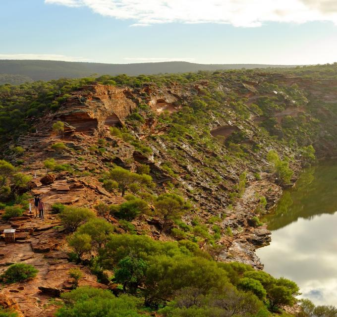 The Loop Walk in Kalbarri National Park, Western Australia