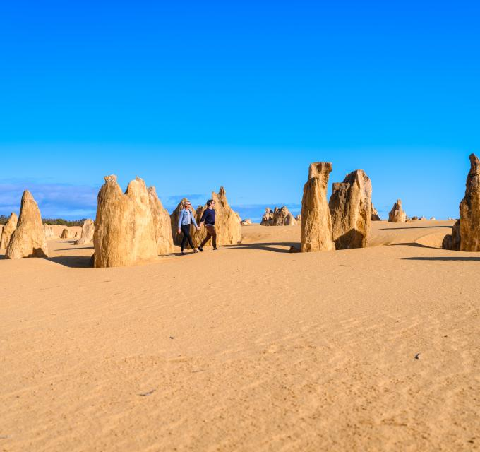 The Pinnacles Desert Nambung National Park Western Australia's Coral Coast